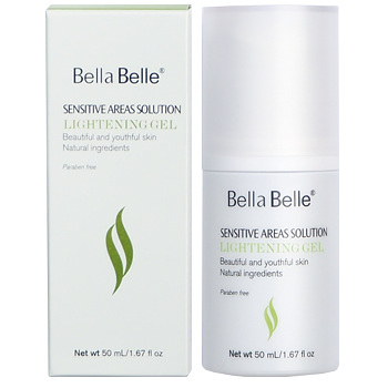 Gel bôi làm hồng nhũ hoa Bella Belle Areas Solution Lightening Gel